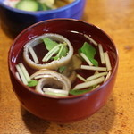 川魚料理 魚庄 - 肝吸い