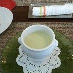 4876911 - 枝豆の冷たいクリームスープ