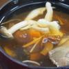長野・伊那 きのこ王国 - 料理写真:きのこ汁