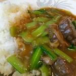 香港楼 - 牛肉と青梗菜