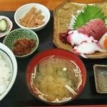 浜めし - 浜めし@銚子 刺身定食