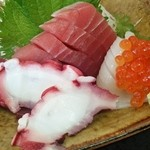 浜めし - 浜めし@銚子 刺身定食の刺身