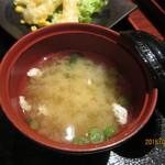 一楽 - お味噌汁