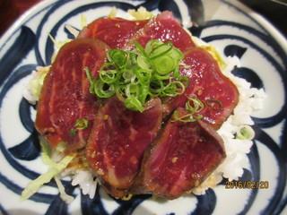 一楽 - 和牛タタキ丼