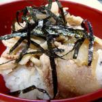 浅間そば - ミニ肉なんセット・きしめん(600円)