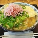 丸亀製麺 イオンモール高松店 - だし玉肉つづみうどん中590円