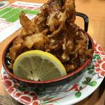 廻鮮寿し丸徳 - 海鮮かき揚げ