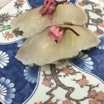 廻鮮寿し丸徳 - 桜鯛  281円