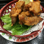 廻鮮寿し丸徳 - マグロの唐揚げ  195円