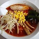 元祖札幌や - 料理写真:辛味ラーメン(しょうゆ大辛)650円