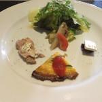 アヴァンティ - ランチの前菜
