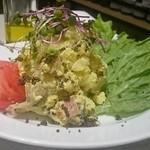 玉上岡元  - キタアカリの究極ポテトサラダ