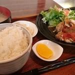 Cafe&diner West - チキンソテートマトソース