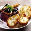 お豆富の味噌漬と丹波黒豆