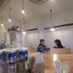 アオヤギ食堂 - 店内をパノラマで
