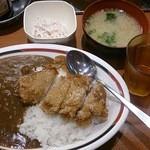 Sガスト - 若鶏竜田カレー大盛570円・ごぼうサラダ90円