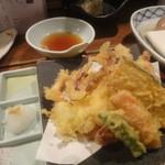 魚菜家 - 天ぷら盛合せ