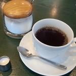 48771358 - モーニングセットのコーヒー