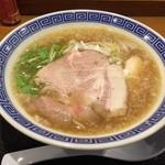 清麺屋 - 鶏魚らーめん(680円)