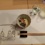 利光 - 蛍イカ酢味噌あえ。
