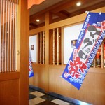 48771876 - マグロ祭りの旗