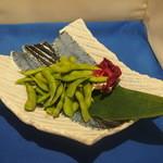ふっくら蒸し枝豆or ほっくり焼き枝豆