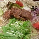 創作料理 宿 - ●黒毛和牛サーロインのポワレはウエルダンで~