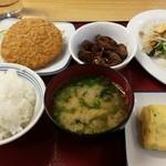 時津久留里食堂 - これで税込948円