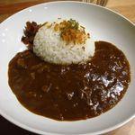 つむぎ - 料理写真:季節のカレー (牛スジカレー)