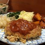 源松食堂 - 料理写真:2016.3月ある日の日替わり