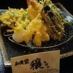 和食堂 穰(ゆたか) - 天ぷら盛り合わせ