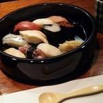 鮨処・居酒屋 一心 - 料理写真:お寿司をランチでいただきました。