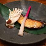 惣門 - アブラボウズの味噌漬け焼