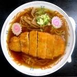 富士見軒 - 料理写真:カツラーメン