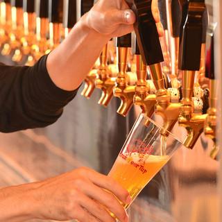 各国から選りすぐりのビールを集めました♪