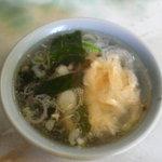 北京定食やまちゃん - スープ