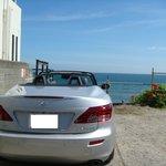 アマルフィイ デラセーラ - 2010/08 国道134号から入り込んで行く「リストランテ アマルフィイ」裏手の通り(江ノ電沿い)に専用駐車場アリ