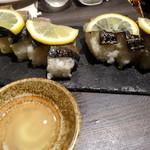 48783077 - 炙りさば棒寿司