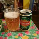 48785364 - ミャンマーのビール