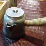 ちく満 - この蕎麦湯は「かまくら」というらしいです。