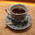 寿し栄 - 食後のコーヒー