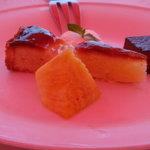 アマルフィイ デラセーラ - 2010/08 ランチセットメニュー「ソレント 1,890円(税込み)」のデザート