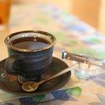 オープンカフェ はぴねす - 温泉コーヒーはおすすめ
