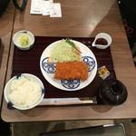 とんかつ まい泉 - ヒレカツ膳 1,180円
