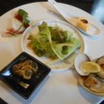 TANTO屋 - グルメセットの前菜プレート 2016.3