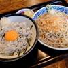 """香取屋 - 料理写真:""""しらす丼セット"""""""