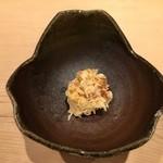 48795343 - 毛蟹の蟹味噌和え雲丹を添えて
