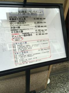 日本料理 銀座 大野 -
