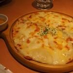 エビスバー - 6種のチーズピザ 蜂蜜の香