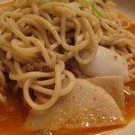 ぼんじょるの - 人気ナンバー1の中華風ミートソース。モチモチ麺というか、食べやすいヤワさがあるソフト麺。